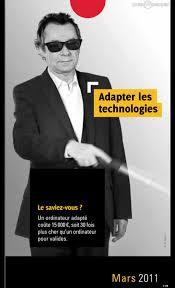 Calendrier Fdration Franaise De Michel Denisot Dans Le Calendrier Pour La Fédération Des Aveugles Et