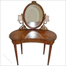 Pine Vanity Table Bedroom Wonderful Dressing Table Mirror With Lights Malm Black