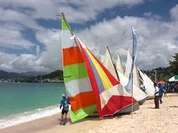 Grenda Flag Grenada Sailing Festival Workboat Regatta 2016 Grenada Bluewater