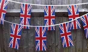 Mass Flag Union Flag Bunting Tickety Boo Bunting
