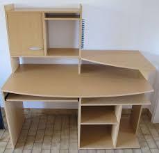 bureau informatique en bois meuble bureau informatique clasf