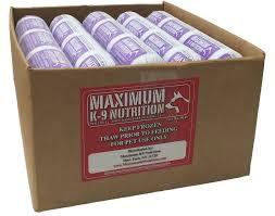 maximum k9 premium raw dog food chicken beef u0026 vegetable blend