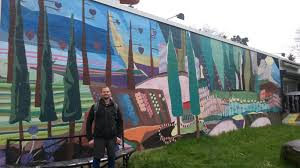 old portland new portland gritty industrial to gentrified urban from there we walked past several intersection murals to the incredible penninula park rose garden even this early in spring when the roses were not out