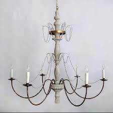 Antique Wood Chandelier Antique Platinic Iron Art And Crystal Chandelier 8256 Browse