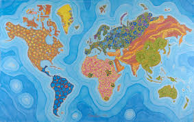 Health Map The Map Of Health A Map That Represents Countries By Disease Rates