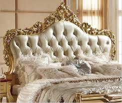 Luxury Design Classic Bedroom Furniture Wooden Bed Modelsin Beds - Italian design bedroom furniture