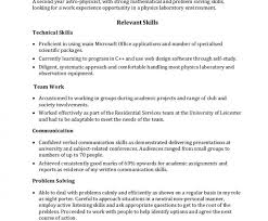 Technical Skills Resume Examples by Pretentious Design It Skills Resume 11 Free Cv Examples Templates