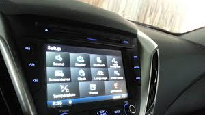 overview of hyundai veloster audio system youtube