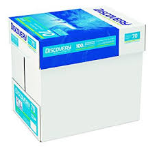 paper ream box discovery paper a4 70gsm 5 reams 2 500 sheets of paper