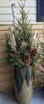 95 Amazing Outdoor Christmas Decorations by Best 25 Christmas Urns Ideas On Pinterest Outdoor Christmas