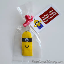 east coast mommy minion valentine finger puppet instructions