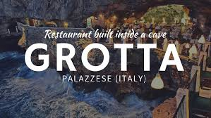 breathtaking restaurant carved inside a cave grotta palazzese