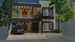 3d Home Design 5 Marla by 5 Marla House Plan Gharplanspk House Plans Home Design Front Kunts