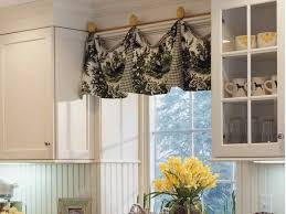 tailored bay window valance ideas swag and jabots for a bay window