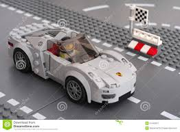 lego speed champions porsche porsche 918 spyder by lego speed champions editorial photography