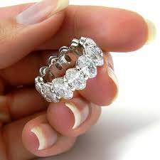eternity ring finger best 25 eternity bands ideas on gold eternity