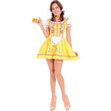aliexpress com buy new yellow oktoberfest beer costume