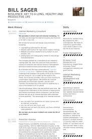 Sample Consultant Resume by Internet Marketing Consultant Cv örneği Visualcv özgeçmiş