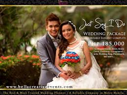 wedding planner packages wedding packages creative events metro manila weebly