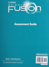 holt mcdougal science fusion florida assessment guide grade 7