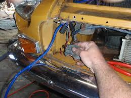 mgb in the garage new wiring harness vinyl top alternator etc