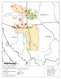 Arizona New Mexico Map Southwest Region Arizona Es Field Office