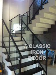 Iron Banisters And Railings Interior Rails And Stair Railing Classic Iron Decor Inc