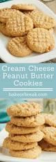 cream cheese peanut butter cookies recipe peanut butter