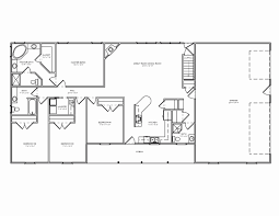 Open Concept Ranch Floor Plans New Architectures Plan House Fresh