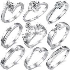 finger rings girls images Platinum finger ring unique wedding bands finger rings plating jpg