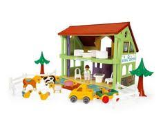 plants wood parking garage and car transporter toys for the