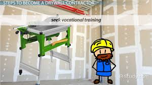 how to become a drywall contractor career guide