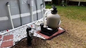 Intex Pool Filters Intex Pool Upgraded Hard Plumb Pool Pump Sand Filter And Salt