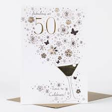 50th birthday cards 50th birthday card time to celebrate only 1 49