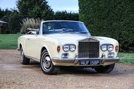 rolls royce vintage convertible 1976 roll royce corniche being auctioned at barons auctions