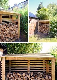 How To Build Backyard Fence How To Build A Log Store