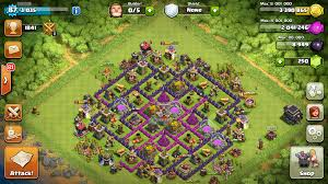 amazing clash of clans super how to put up a permanent shield while playing