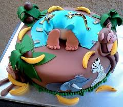 jungle baby shower cakes baby shower cake jungle theme home party theme ideas
