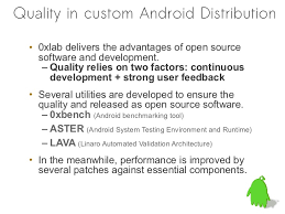 android distribution build community android distribution and ensure the quality