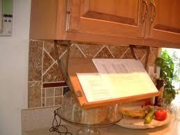 Kitchen Cabinet Storage Racks Kitchen Cabinet Storage Cookbook Storage Hack Retractable