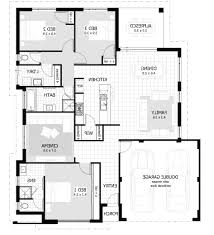 Kenya House Plans by Floor Plan Of A Three Bedroom Bungalow Kenya Home Combo