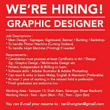 Graphic Design Job Description Resume by Freelance Graphic Designer Malaysia Home Facebook