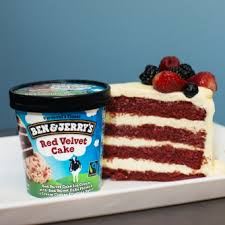 red velvet cake ice cream ben u0026 jerry u0027s