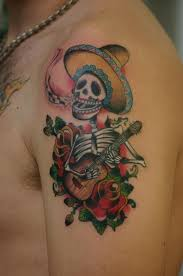 36 best mexican skull tattoo men images on pinterest death