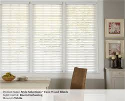 2 inch pvc faux wood custom blinds