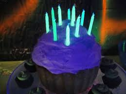 cool birthday candles glow in the party dwell in the garden