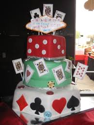 themed ls casino themed cake cakecentral