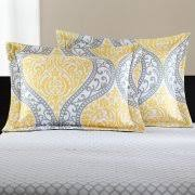 Yellow Bedding Set Mainstays Yellow Damask Coordinated Bedding Set Bed In A Bag