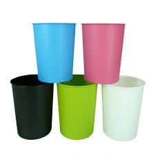 20 small waste baskets teak waste basket with swing top lid