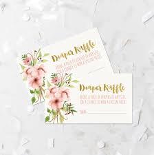 diaper raffle printable tribal blush floral diaper raffle tickets